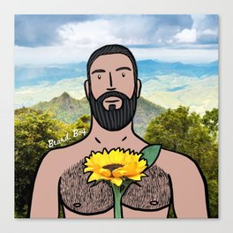 Beard Boy: Nature Boy  Canvas Print