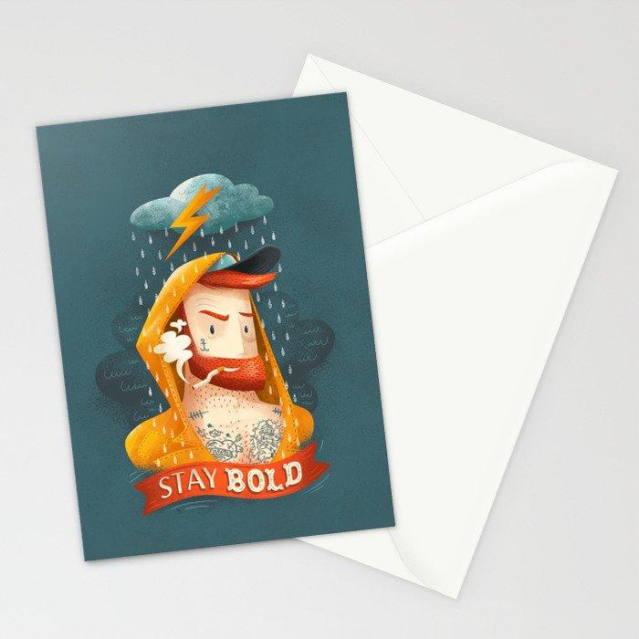 STAY BOLD Stationery Cards