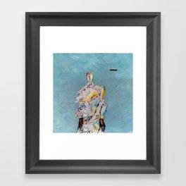 OUT HERE Framed Art Print