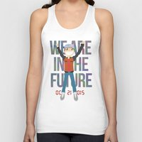 marty mcfly Tank Tops featuring Marty McFly in the Future by Sebast Hoyos