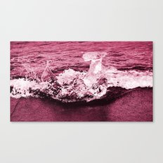 red ice. Canvas Print