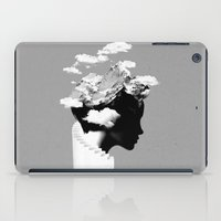 silhouette iPad Cases featuring It's a cloudy day by Robert Farkas