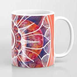 White Flowerdrum Coffee Mug