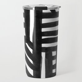 Ink Pattern Travel Mug