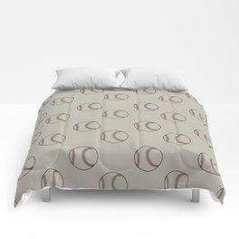 Baseballs Comforters