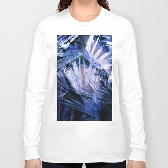 Palm With Gradient Long Sleeve T-shirt