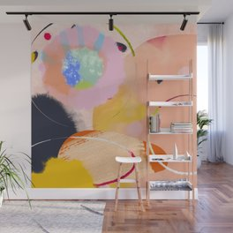 circles art abstract Wall Mural