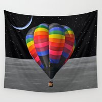 balloon Wall Tapestries featuring Balloon by Cs025