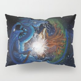 Dragon's Soul and the Tree of Life Pillow Sham