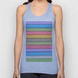 Rainbow Chalks Unisex Tank Top