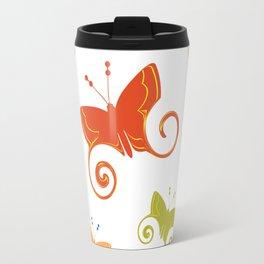 Summer butterflies Travel Mug