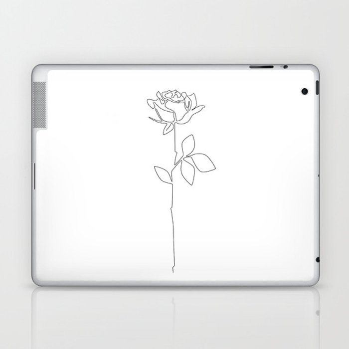 Fragile Rose Laptop & iPad Skin