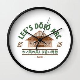 Lee's Dojo Arc - Japanese Wall Clock