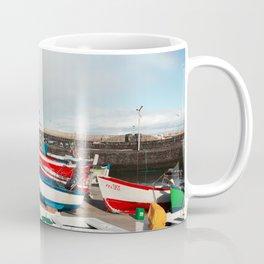 Rainbow at the harbour Coffee Mug