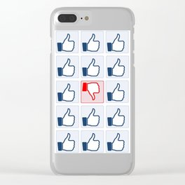 The Like Culture Clear iPhone Case