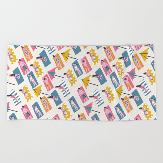 Beach Time Beach Towel