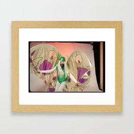 George Clinton_Butterfly 1 Framed Art Print