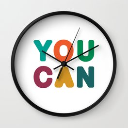 You Can Wall Clock