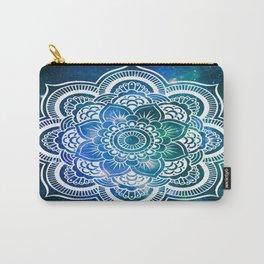 Mandala : Blue Green Galaxy Carry-All Pouch