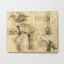 Codex: AT-AT Metal Print