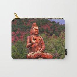 Buddha at Amitabha Stupa & Peace Park Sedona, AZ Carry-All Pouch
