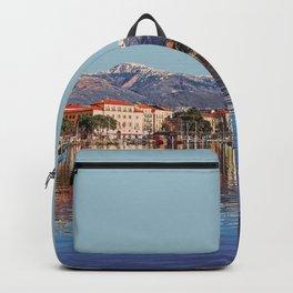 Geneva, Switzerland Travel Artwork Backpack