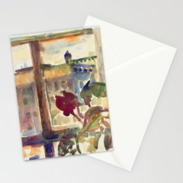 View over Broadway, NYC Stationery Cards