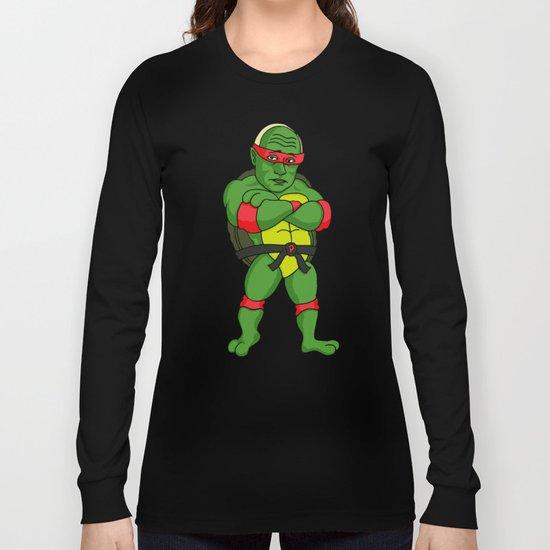 Teenage Putin Ninja Turtle Long Sleeve T-shirt