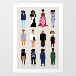All Dressed Up (v.1) Art Print