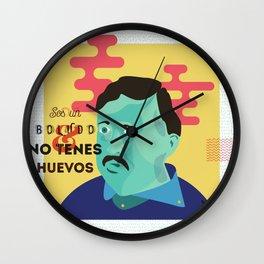 Atendedor de boludos Wall Clock