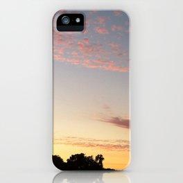 Pink California Sunset iPhone Case