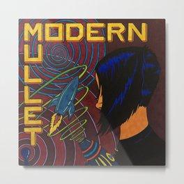Modern Mullet Metal Print