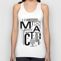 metal Tank Tops featuring METAL FICTION by cmyka