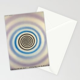 Advertisement general dynamics liquid carbonic Stationery Cards