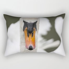 Mute Swan Rectangular Pillow