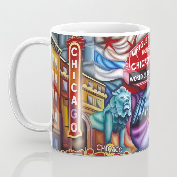 Chicago Montage 3 Coffee Mug