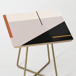 abstract minimal 28 Side Table