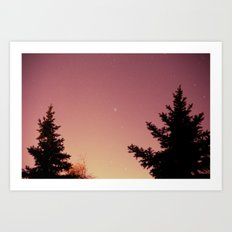 north star Art Print