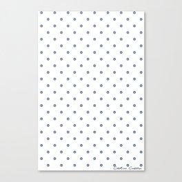 Bon Chance Blanc Canvas Print