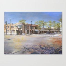 Corner of Ridge and Dixie Canvas Print