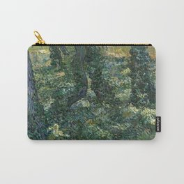 """Vincent Van Gogh """"Trees and undergrowth"""" Carry-All Pouch"""