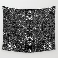 bug Wall Tapestries featuring Bug Crowd  by Shari Ross