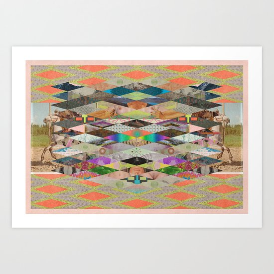 RHOMBOID SEX Art Print