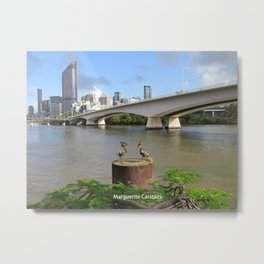Brisbane River Metal Print
