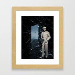 Bela Lugosi - Marble Temple Framed Art Print