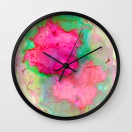 NEON MARBLE Wall Clock