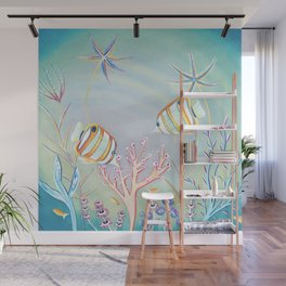 Butterfly Fish Wall Mural
