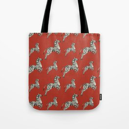 African red zebras Tote Bag
