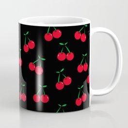 Cherries 2 (on black) Coffee Mug