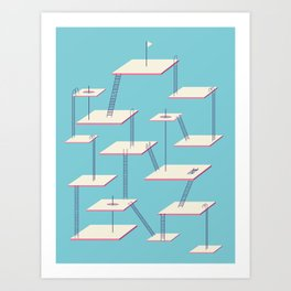 STAGNATION Art Print